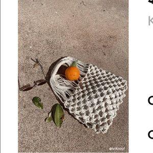 Forever 21 woven handbag